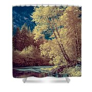 Reflections On Bull Creek Shower Curtain