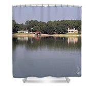 Reflections - On - Lake Weir Shower Curtain