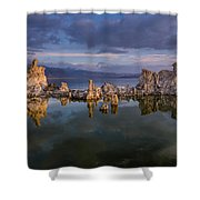 Reflections On Mono Lake 1 Shower Curtain