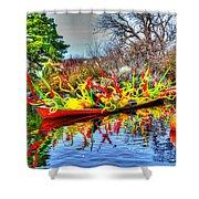 Reflective Boat Shower Curtain
