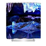 Reflective Cavern Shower Curtain