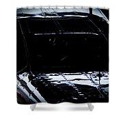 Reflective Cessna Shower Curtain