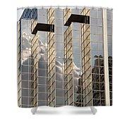 Reflective Coating Shower Curtain