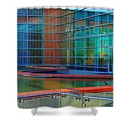 Reflective Gallery Shower Curtain