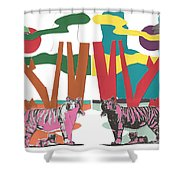 Reflective Protector Shower Curtain