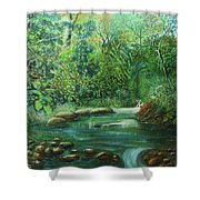Reflejo Sereno Shower Curtain