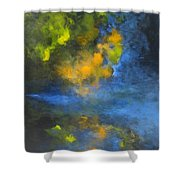 Reflets - Reflections Shower Curtain