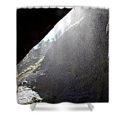 Refreshing Tunnel Shower Curtain