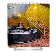 Refreshment Stand Radio City Music Hall Shower Curtain