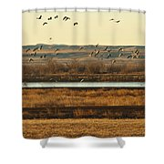 Refuge View 6 Shower Curtain