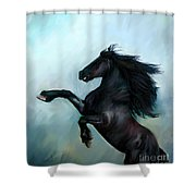 Regaining Strength Shower Curtain by Tamer and Cindy Elsharouni