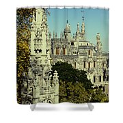 Regaleira Palace I Shower Curtain