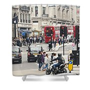 Regent Street London Shower Curtain