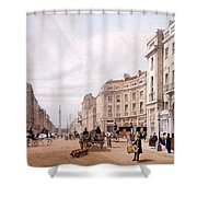 Regent Street, Looking Towards The Duke Shower Curtain