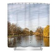 Regents Park London Shower Curtain