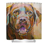 Reilly Shower Curtain by Kimberly Santini