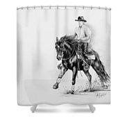 Reining Shower Curtain