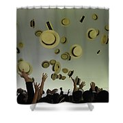 Rejoice Two Shower Curtain