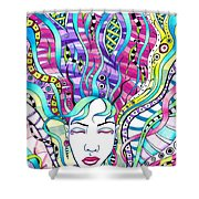 Rejuvenation  Shower Curtain by Shawna Rowe