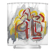Relations Shower Curtain