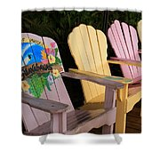 Relax Here Shower Curtain