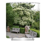 Relax In The Park Shower Curtain