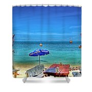 Relax On The Beach Shower Curtain
