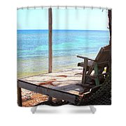 Relax Porch Shower Curtain