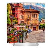 Relaxing In Baveno Shower Curtain