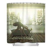 Relaxing Octopus...  Shower Curtain