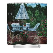 Relaxing Place Shower Curtain