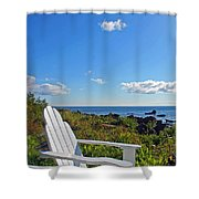 Relaxing Shower Curtain