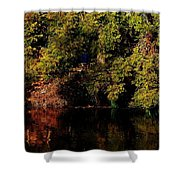 Relaxing To Sight Of Nature Shower Curtain
