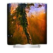Release - Eagle Nebula 3 Shower Curtain