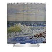 Relentless Harmony Shower Curtain