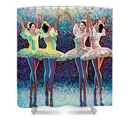 Releve' Shower Curtain