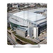 Reliant Stadium In Houston Shower Curtain
