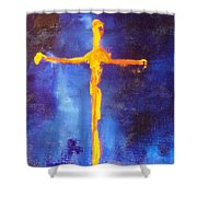Religion Shower Curtain