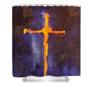 Religion II Shower Curtain