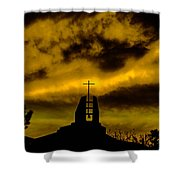 Religious Moment Shower Curtain