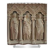 Religious Relief Shower Curtain