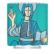 Religious  Shower Curtain