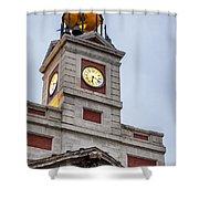 Reloj De Gobernacion 2 Shower Curtain