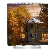 Remains Shower Curtain