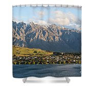 Remarkables Shower Curtain