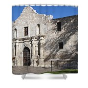 Remember The Alamo Shower Curtain