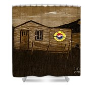 Remember When - Old Pepsi Sign Shower Curtain