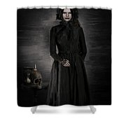 Remember Your Mortality Shower Curtain
