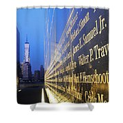 Remembering 9/11-hope And Despair Shower Curtain