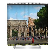 Remembering The Mighty Caesar Shower Curtain